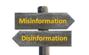 misinformation og disinformation