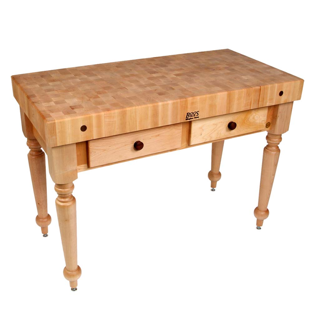 Cucina Rustica Prices John Boos Cucr05 Cucina Rustica Work Table 48 X 24 X 34 1 2 Inch 4