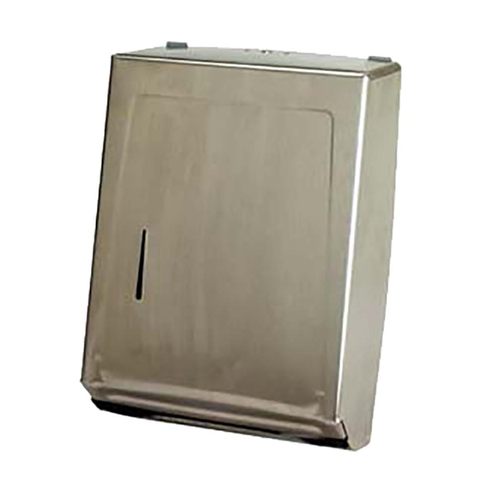 Wall Mount Paper Towel Dispensers Continental 989ss Paper Towel Dispenser Wall Mounted Stainless Steel Case Of 6