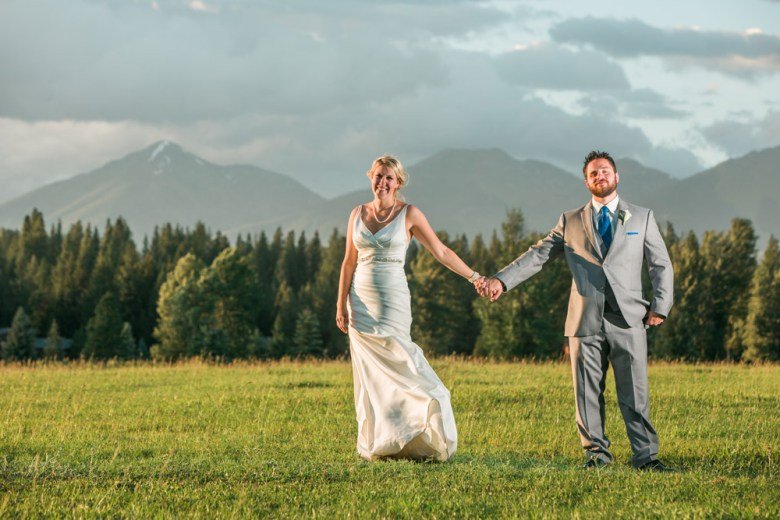 Michael and Erin | Double Arrow Ranch, Montana Wedding