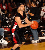 Jesse Metcalfe - Hollywood Knights Basketball Game