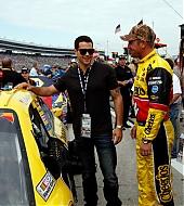 Jesse Metcalfe at NASCAR