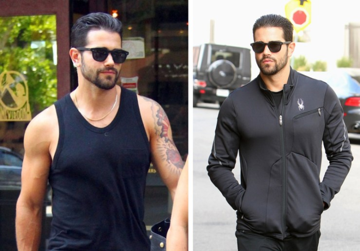 Jesse Metcalfe out and about on September 18, 2013