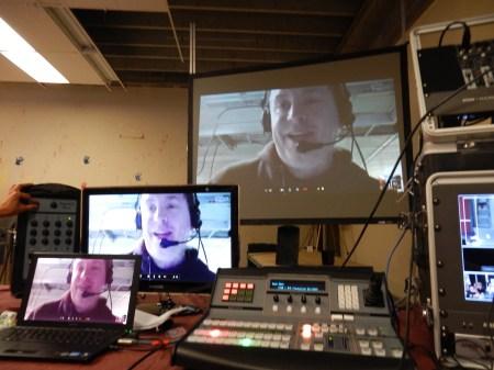 Broadcast Skype Calls