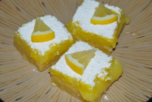 Aimee's Double Lemon Bars