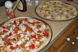 Homemade Pizza, again.