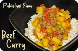 Pakistani Kima (Beef or Venison Curry)