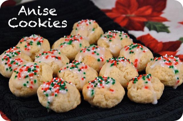 Anise Cookies