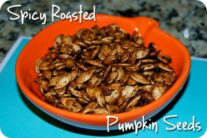 SRC: Spicy Roasted Pumpkin Seeds
