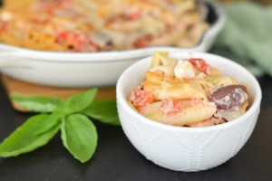 Greek Pasta Bake {And Fresno Smart & Final Opening}