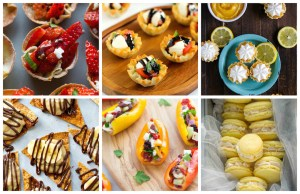 Bite-Sized Baby Shower Appetizers and Desserts