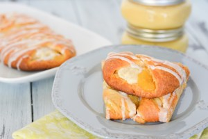 Lemon Cream Cheese Danish Braid