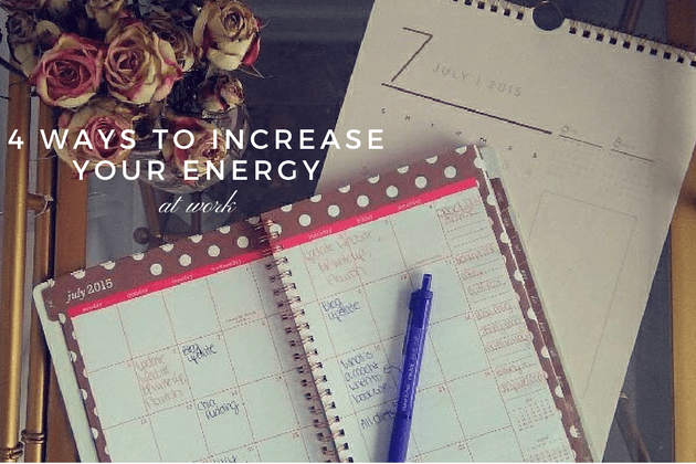 Increase Energy at Work