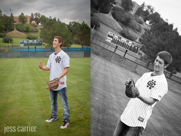 Baseball Senior Portrait Ideas (Click To See More)