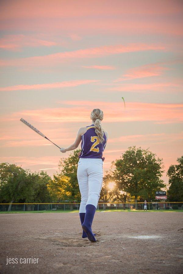 Senior Sports Photos | Softball