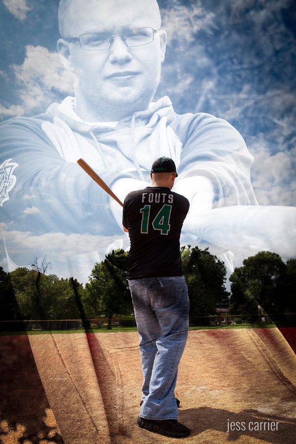 Baseball Portrait Composite