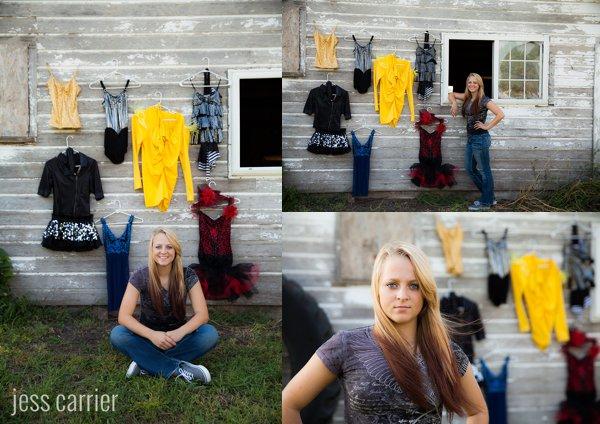Sports Senior Portraits | Dance Costumes
