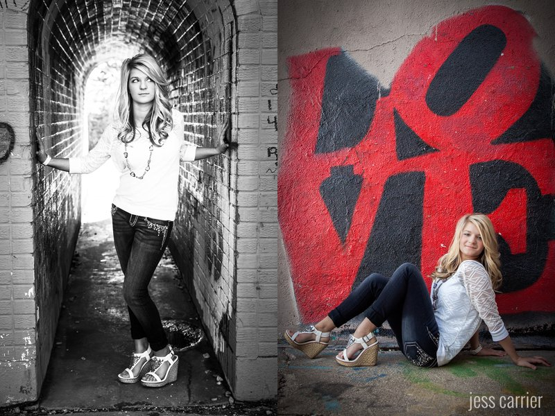 Senior Portraits | Graffiti | Sioux City, IA