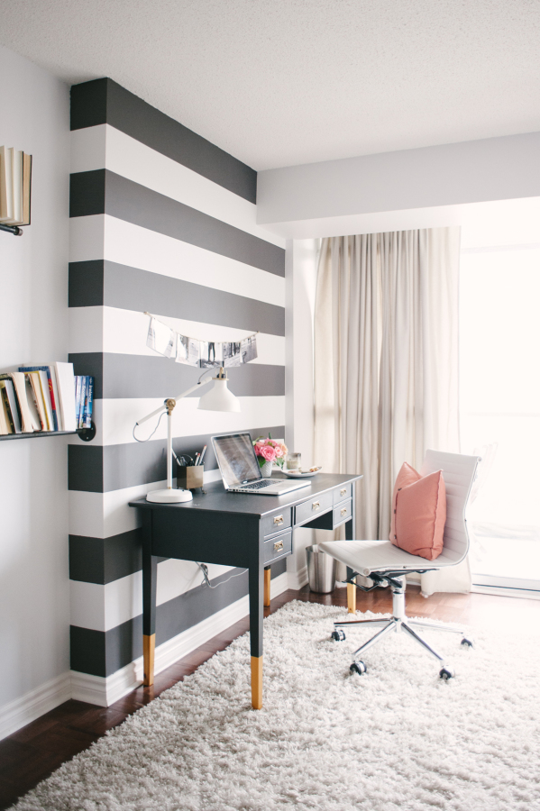 7 Creative Office Space Ideas - Black and White