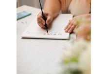 Online Modern Calligraphy Workshops with Manayunk Calligraphy | Jessica Dum Wedding Coordination November Favorites