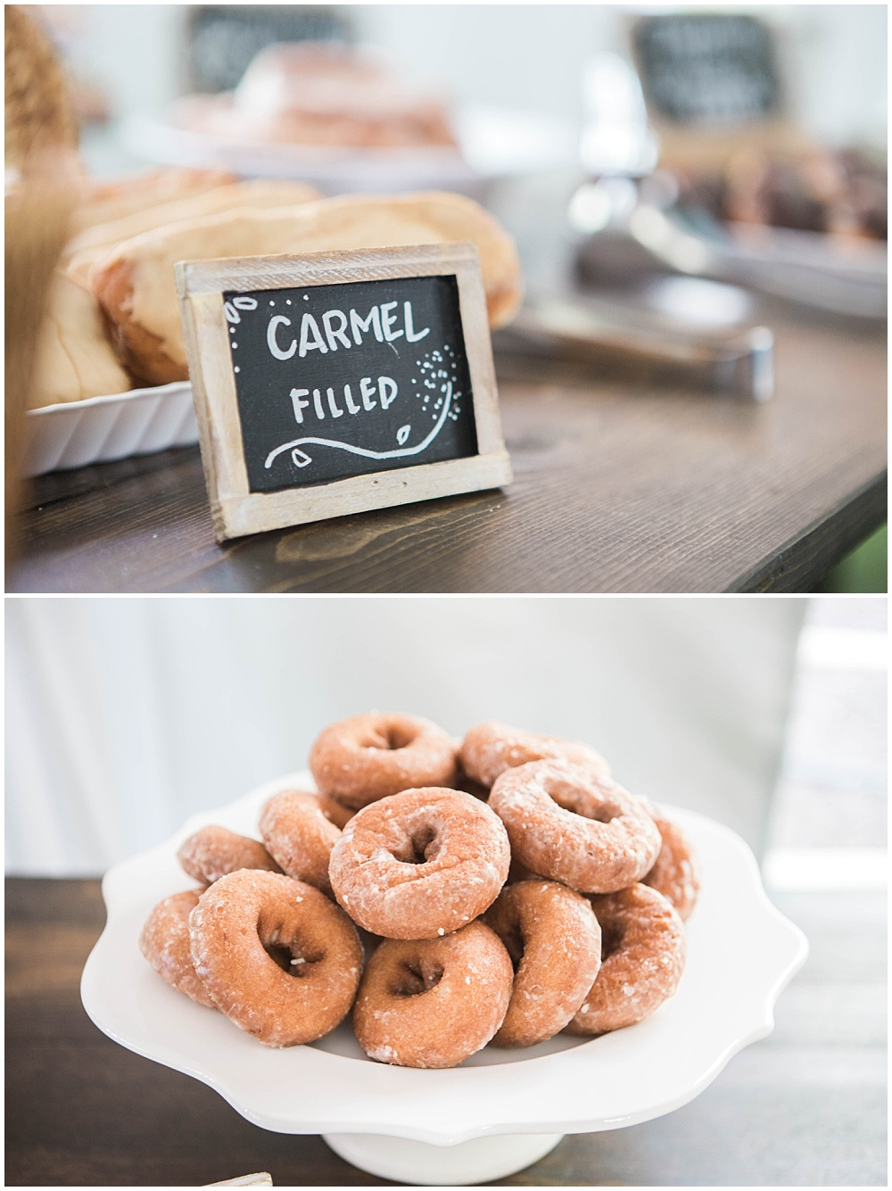 Donut Dessert Station | Rustic Outdoor Estate Wedding by Conforti Photography & Jessica Dum Wedding Coordination