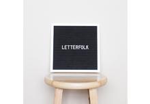 Letterfolk Co Felt Letter Board | Jessica Dum Wedding Coordination December Favorites