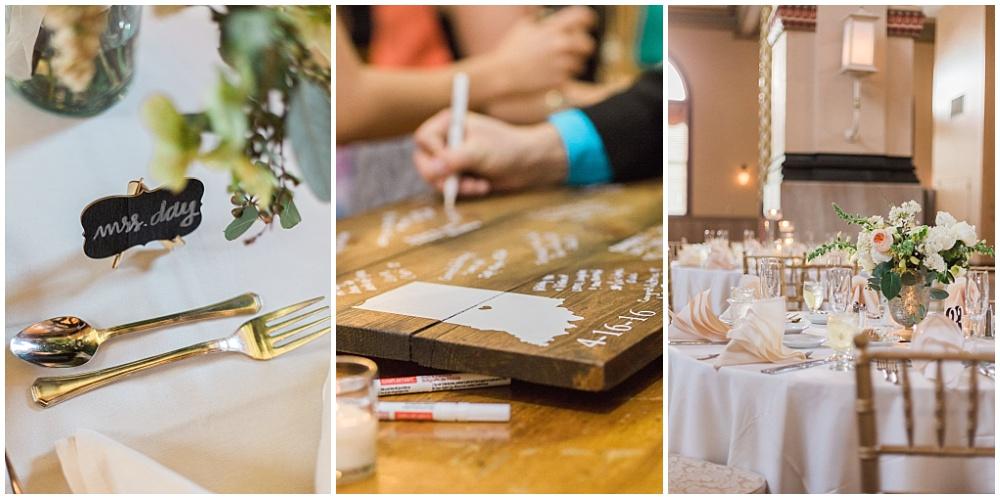 Wedding Details | Downtown Indianapolis Wedding by Gabrielle Cheikh Photography & Jessica Dum Wedding Coordination