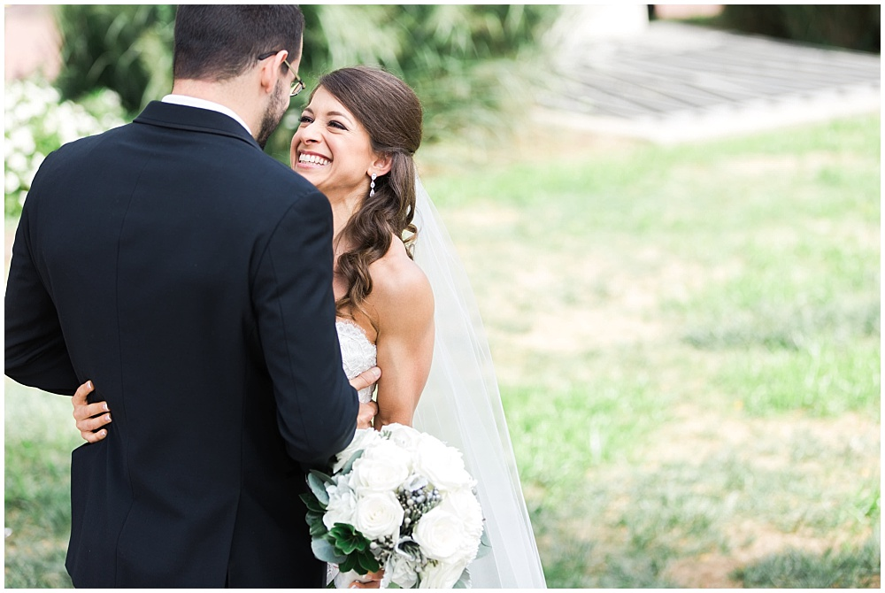 Bride and Groom first look portraits | D'Amore Wedding by Ivan & Louise Images & Jessica Dum Wedding Coordination