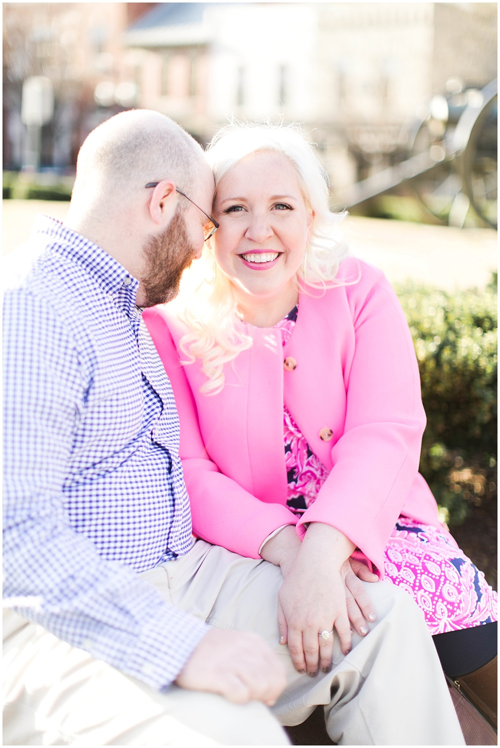 Franklin, TN Engagement Session with Ivan & Louise