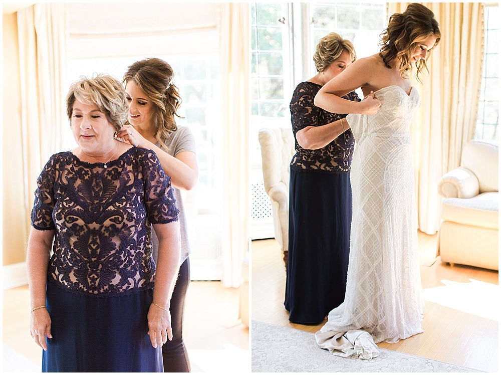 Navy mother of the bride | Navy and Gold Wedding at Laurel Hall with Ivan & Louise Photography + Jessica Dum Wedding Coordination