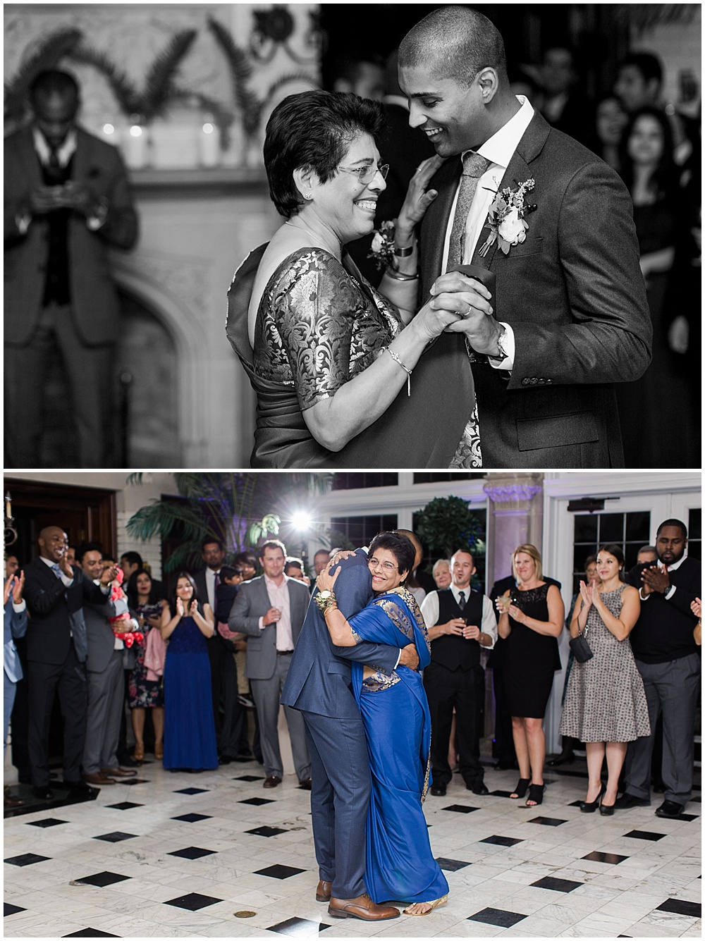 Mother son dance | Navy and Gold Wedding at Laurel Hall with Ivan & Louise Photography + Jessica Dum Wedding Coordination