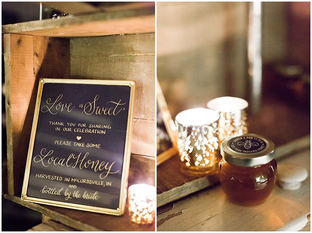 honey favor | Ivan & Louise Images and Jessica Dum Wedding Coordination