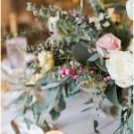 Fall foliage wedding centerpieces   Laurel Hall wedding with Ivan & Louise Images + Jessica Dum Wedding Coordination