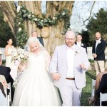 Bride and groom ceremony exit, navy and pink southern wedding | Ivan & Louise Images and Jessica Dum Wedding Coordination