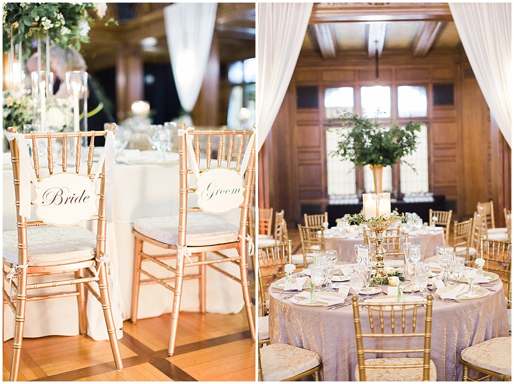 bride and groom chairs | floral and greenery wedding| Ivan & Louise Images and Jessica Dum Wedding Coordination