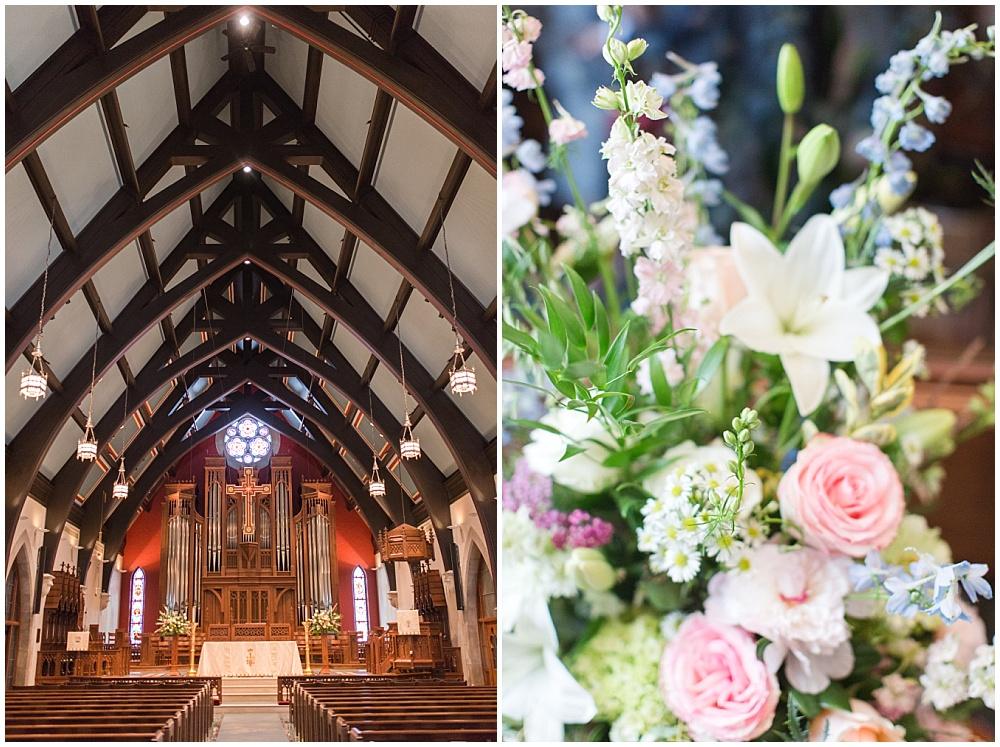 Church photos | Sami Renee Photography + Jessica Dum Wedding Coordination