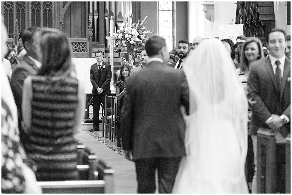 Father of the bride walking bride down the aisle | Sami Renee Photography + Jessica Dum Wedding Coordination