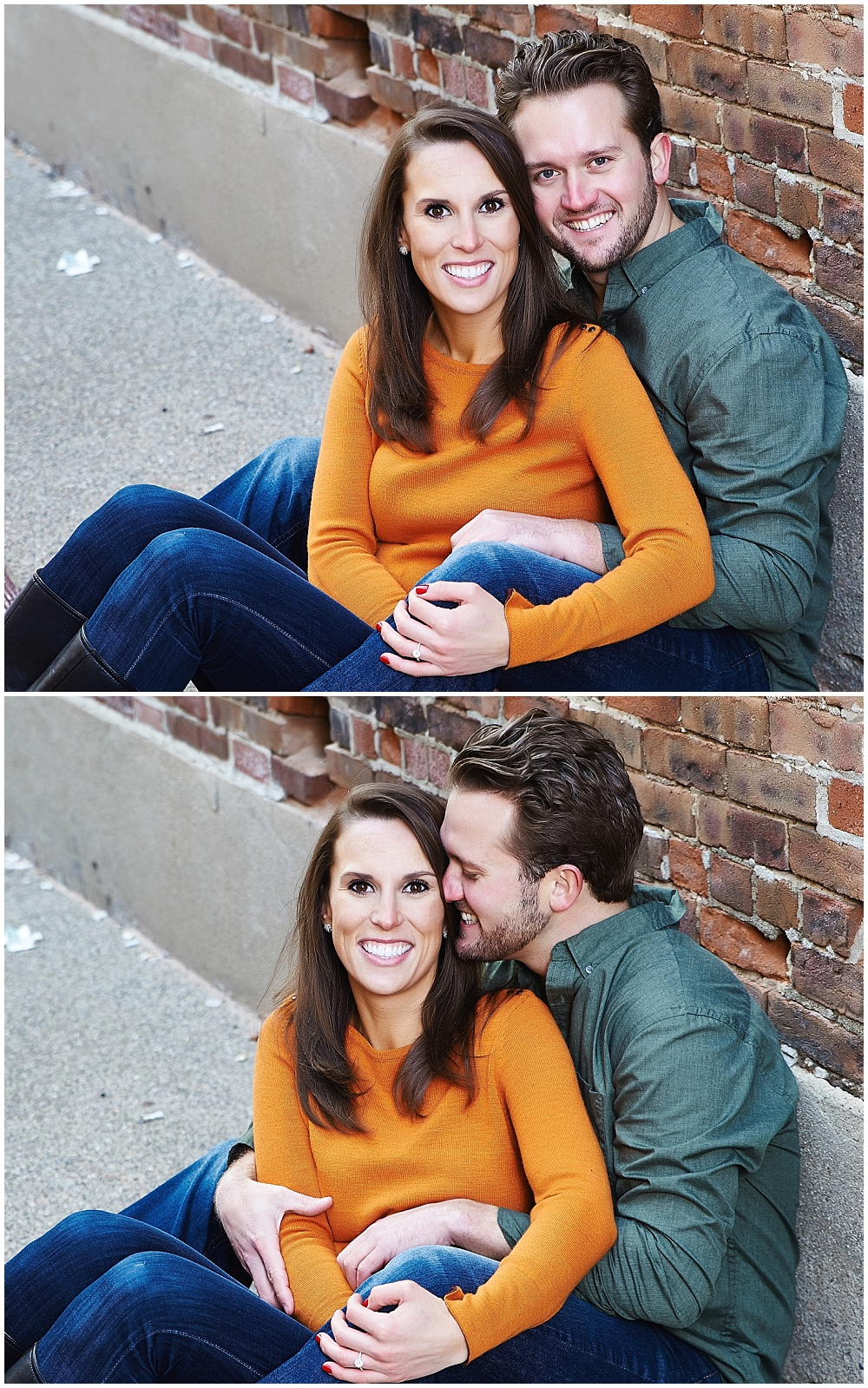 Fall Indianapolis Indiana Engagement Session; Indianapolis, Indiana; Engagement Session Outfit Ideas