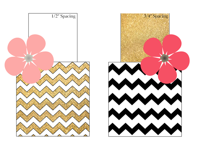 Template Tuesday - Small Chevron Cake Template (FREE!) - Jessica