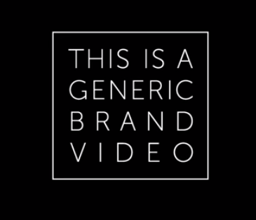 Generic Brand Marketing Video