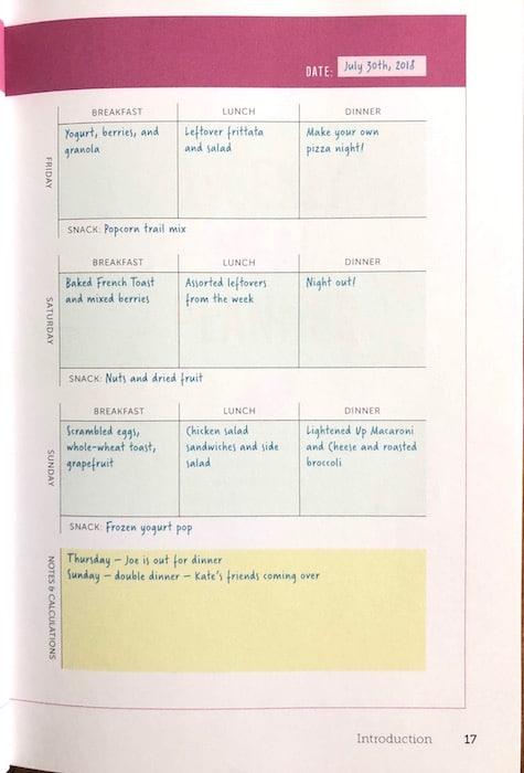 52-Week Meal Planner Workbook - The Ultimate Meal Planning Resource