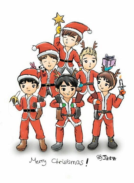 Cute Markiplier Wallpaper Fan Art Merry Christmas Jazz Loves Korea