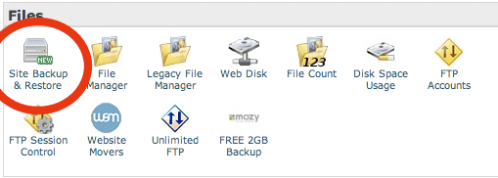 Full Cpanel Backups