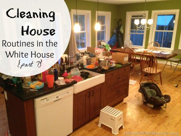 Routines in the White House Cleaning House[4]