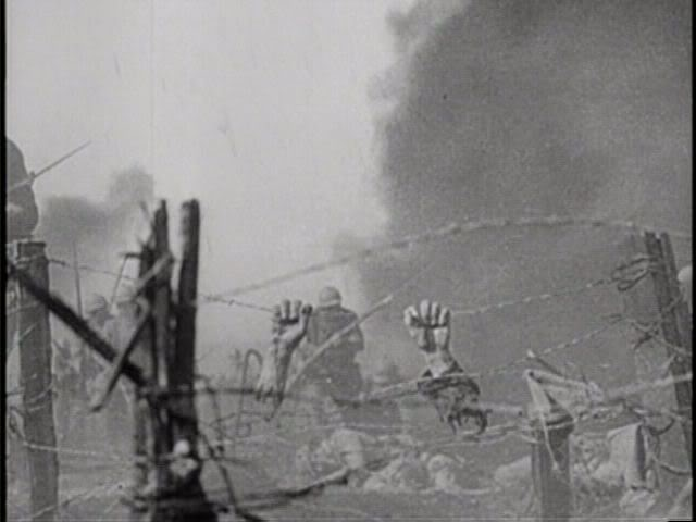 Hands on barbed wire after explosion from  - explosive specialist sample resume