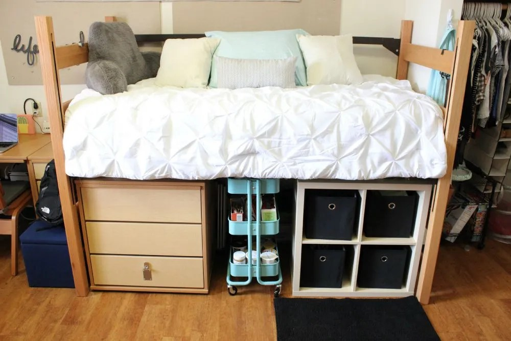 Decorating Ideas > My College Dorm Room Tour  Jessica Slaughter ~ 180207_College Dorm Room Storage Ideas