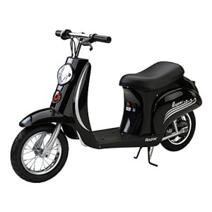 black scooter for kids