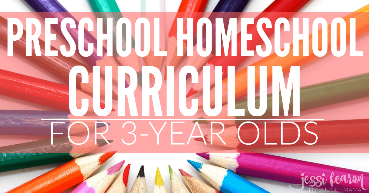 Preschool Homeschool Curriculum For 3 Year Olds Jessi Fearon - Home School Year 3
