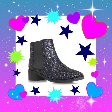 Glitter boot LOVE