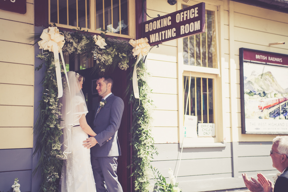 Churnet Valley Railway Wedding